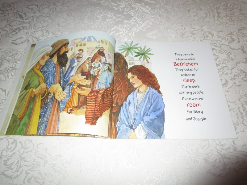 Image 4 of The Christmas Story Patricia A. Pingry Brand New Softcover