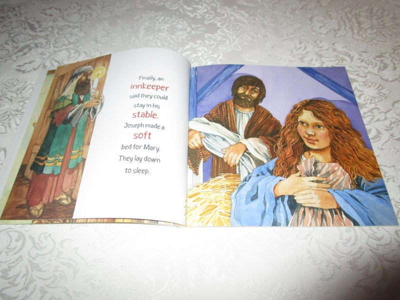Image 5 of The Christmas Story Patricia A. Pingry Brand New Softcover