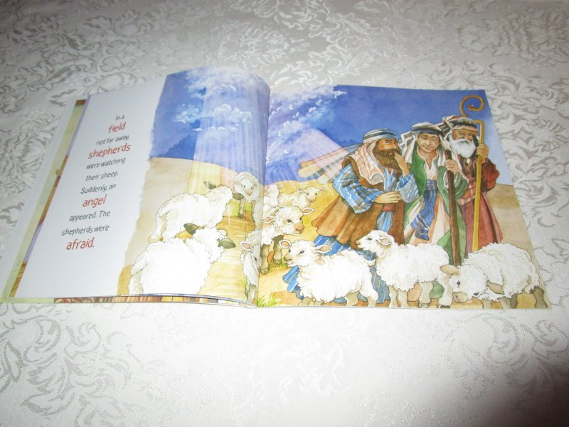 Image 7 of The Christmas Story Patricia A. Pingry Brand New Softcover