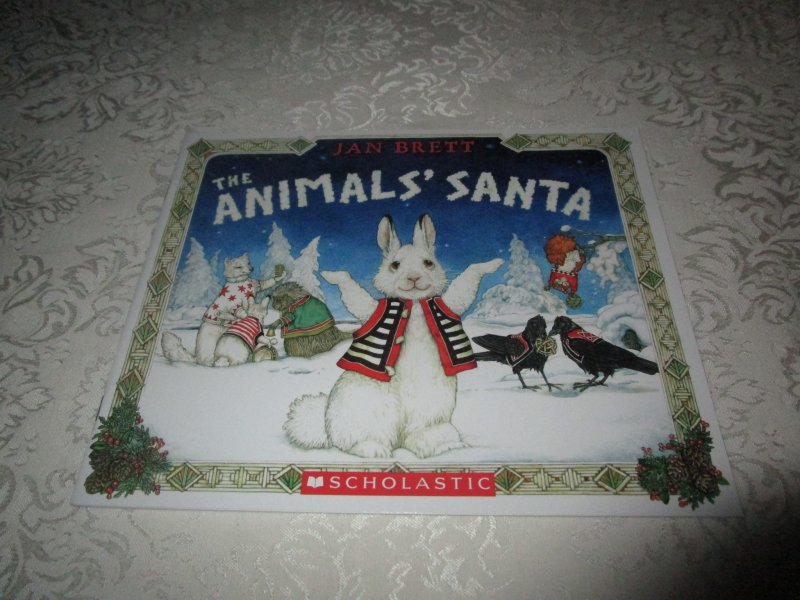 Chanukah Images For Facebook >> The Animals' Santa Jan Brett Brand New Softcover