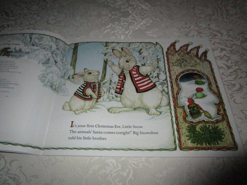 Image 1 of The Animals' Santa Jan Brett Brand New Softcover