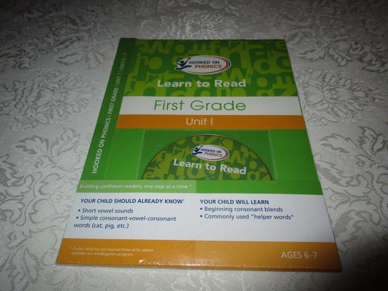 Brand New and Sealed Set (First Grade): Visual Phonics DVD, Workbook, Storybook, Reward Stickers