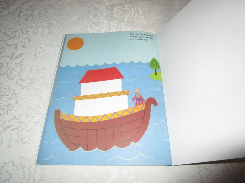 Image 11 of Noah's Ark Julie Lacome Sticker Stories with 75+ Reusable Stickers Brand New