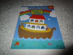 Noah's Ark Julie Lacome Sticker Stories with 75+ Reusable Stickers Brand New