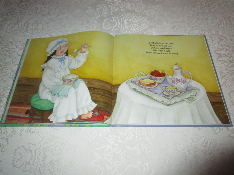 Image 9 of Little Miss Muffet Iza Trapani Brand New Hardcover