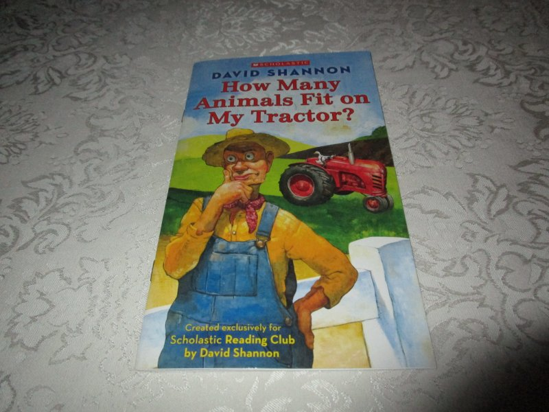 Image 2 of How Many Animals Fit on My Tractor? David Shannon Lot of 6 New Reader Size