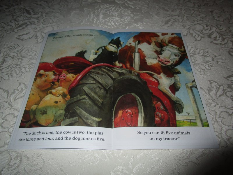 Image 5 of How Many Animals Fit on My Tractor? David Shannon Lot of 6 New Reader Size