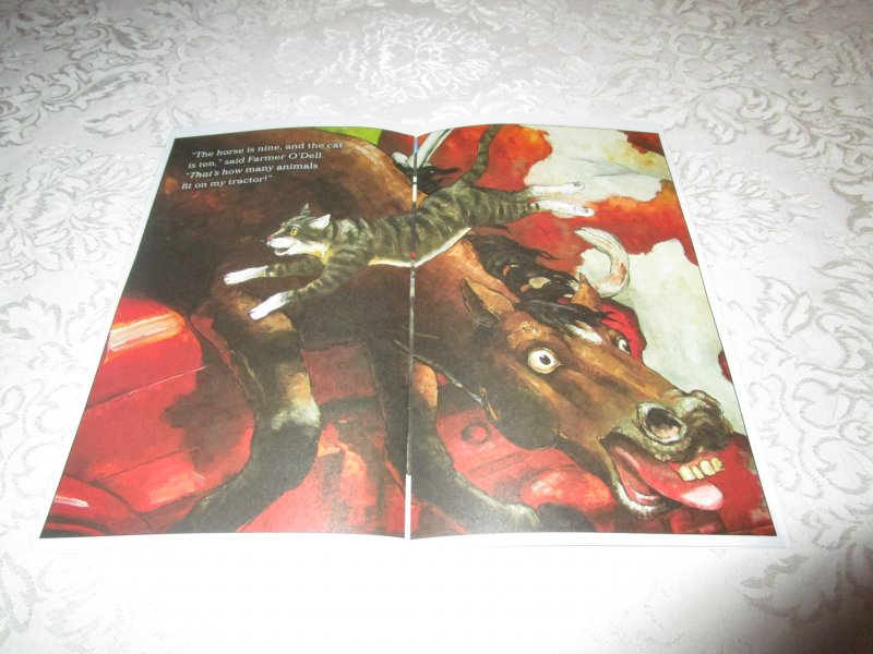 Image 6 of How Many Animals Fit on My Tractor? David Shannon Lot of 6 New Reader Size