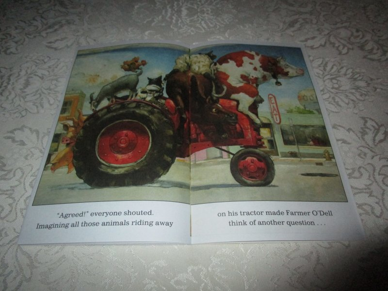 Image 8 of How Many Animals Fit on My Tractor? David Shannon Lot of 6 New Reader Size