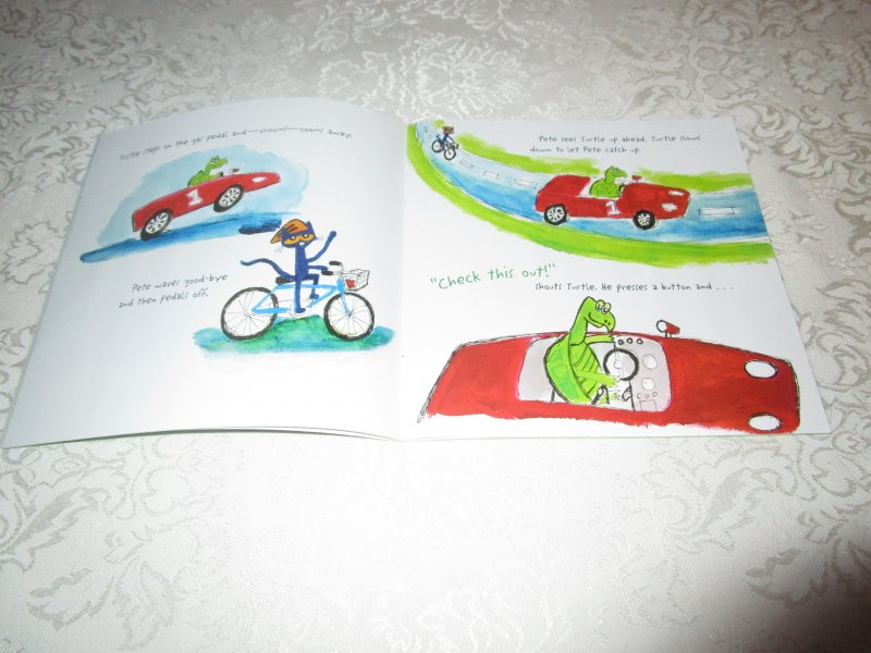 Image 3 of Pete the Cat Go, Pete, Go! James Dean Brand New SC with 30+ Stickers