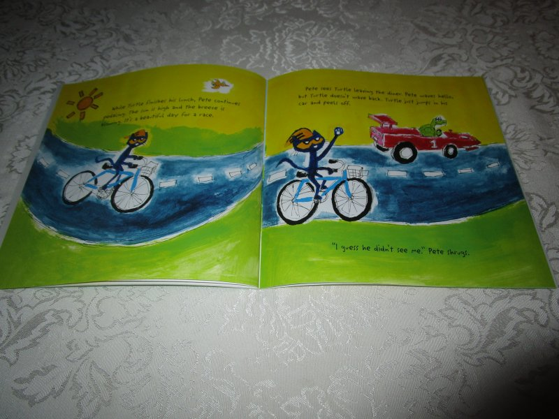 Image 5 of Pete the Cat Go, Pete, Go! James Dean Brand New SC with 30+ Stickers