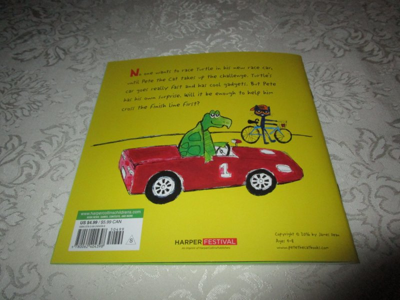 Image 8 of Pete the Cat Go, Pete, Go! James Dean Brand New SC with 30+ Stickers