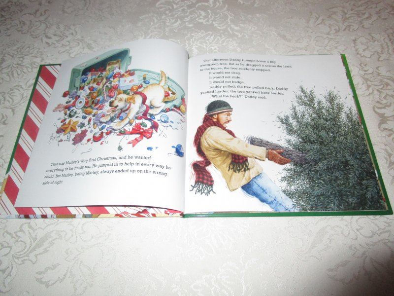 Image 1 of A Very Marley Christmas John Grogan Brand New Hardcover