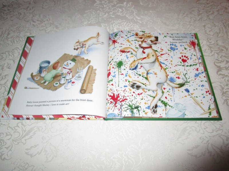 Image 3 of A Very Marley Christmas John Grogan Brand New Hardcover