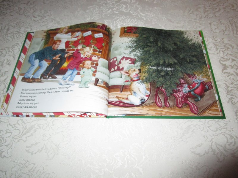 Image 4 of A Very Marley Christmas John Grogan Brand New Hardcover