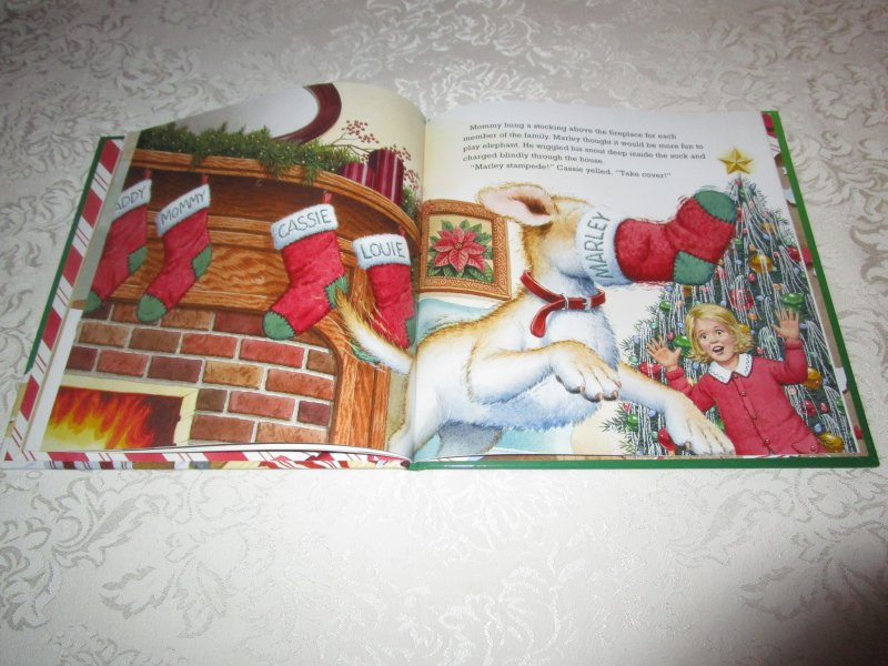 Image 5 of A Very Marley Christmas John Grogan Brand New Hardcover