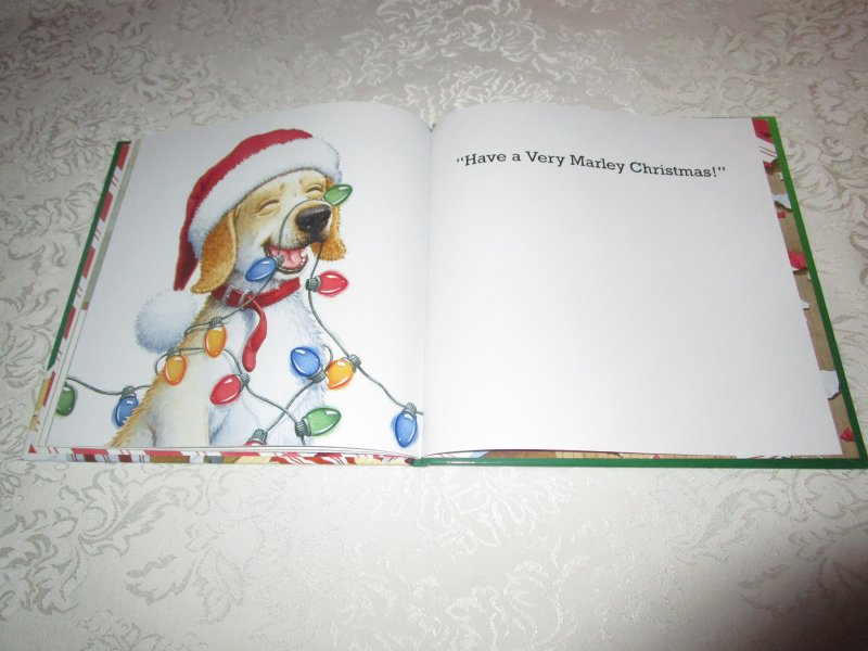 Image 6 of A Very Marley Christmas John Grogan Brand New Hardcover