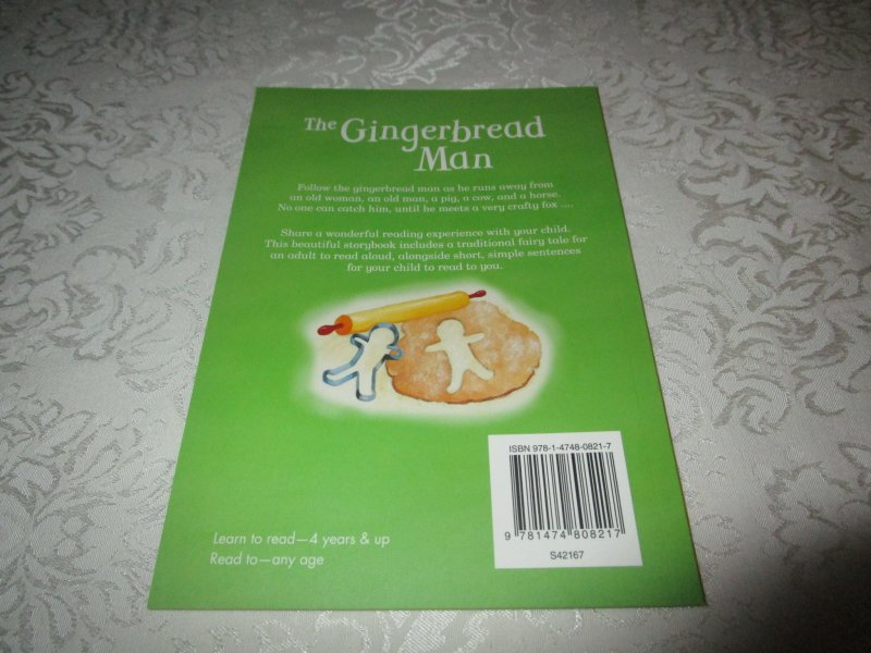Image 9 of The Gingerbread Man Gail Yerrill Brand New SC Reader Size