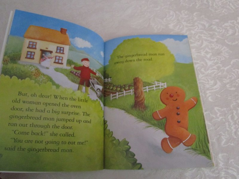 Image 2 of The Gingerbread Man Gail Yerrill Brand New SC Reader Size