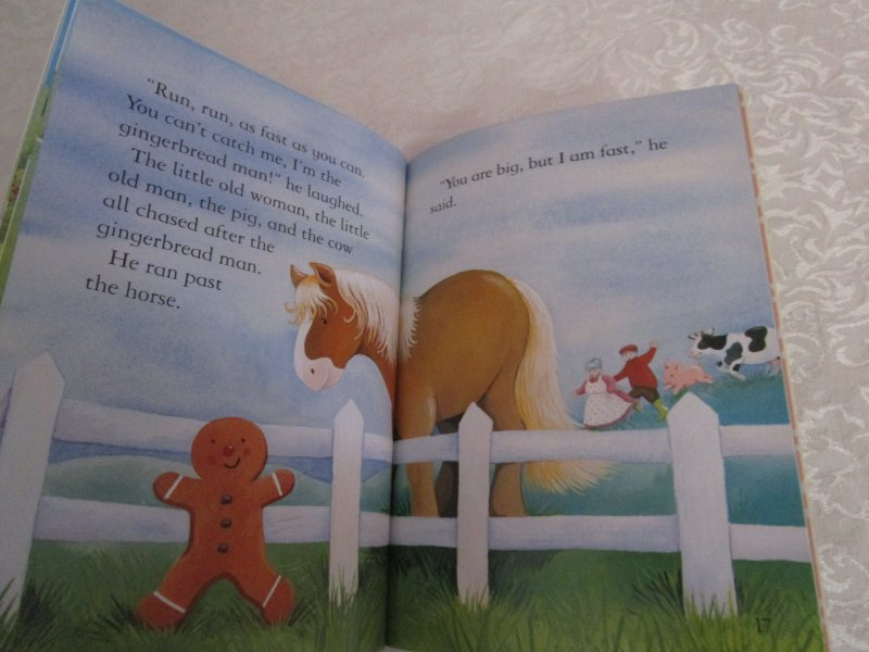 Image 6 of The Gingerbread Man Gail Yerrill Lot of 6 Brand New SC Reader Size