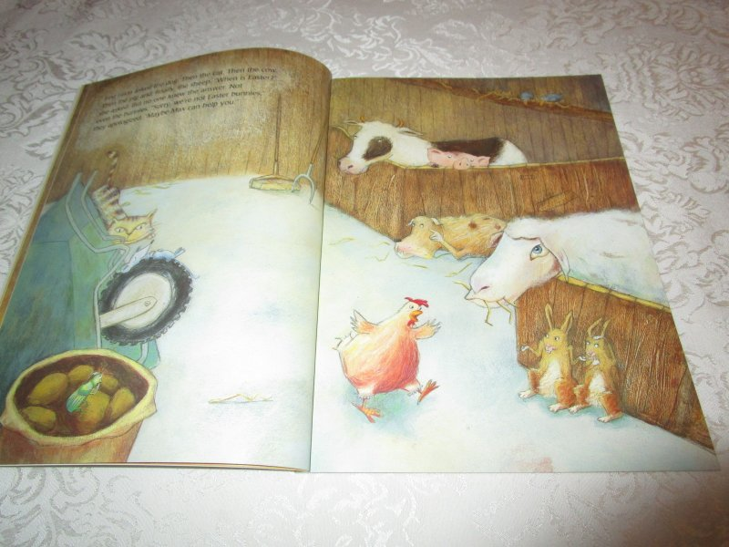 Image 2 of The Easter Chick Geraldine Elschner Brand New Softcover