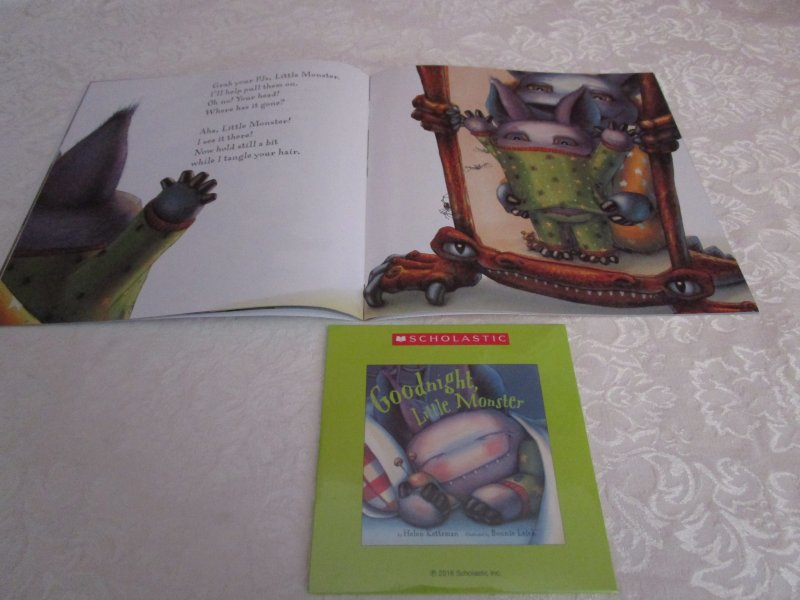 Image 3 of Goodnight, Little Monster Helen Ketteman Brand New Audio CD and SC