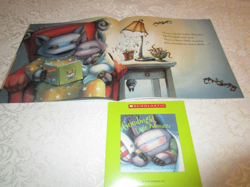 Image 5 of Goodnight, Little Monster Helen Ketteman Brand New Audio CD and SC
