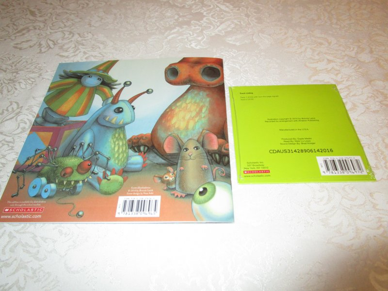Image 8 of Goodnight, Little Monster Helen Ketteman Brand New Audio CD and SC