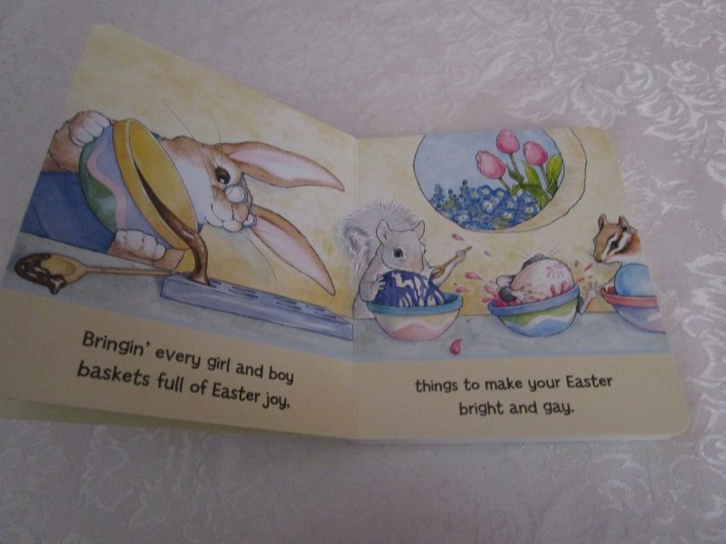 Image 2 of Here Comes Peter Cottontail! Steve Nelson Jack Rollins Brand New Board Book