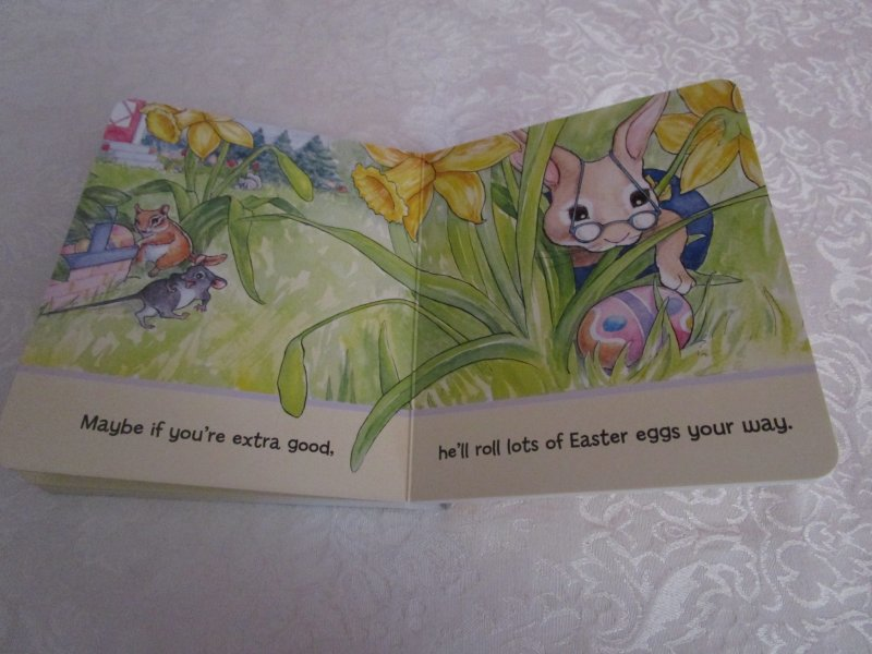 Image 7 of Here Comes Peter Cottontail! Steve Nelson Jack Rollins Brand New Board Book