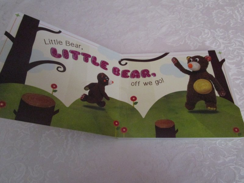 Image 1 of I Love You, Little Bear Touch and Feel Brand New Board Book