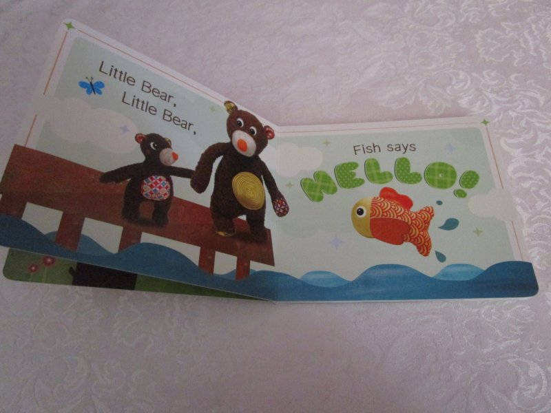 Image 2 of I Love You, Little Bear Touch and Feel Brand New Board Book