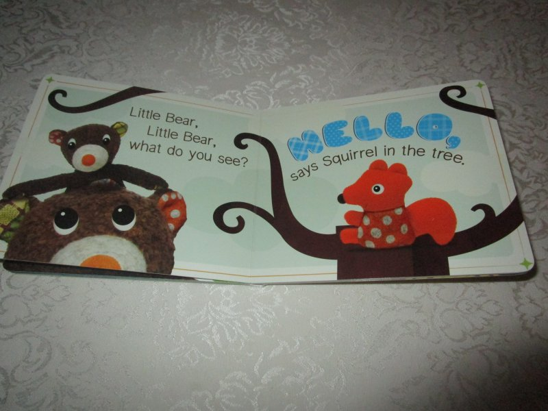 Image 4 of I Love You, Little Bear Touch and Feel Brand New Board Book