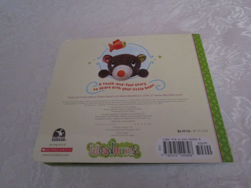 Image 7 of I Love You, Little Bear Touch and Feel Brand New Board Book
