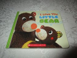 I Love You, Little Bear Touch and Feel Brand New Board Book