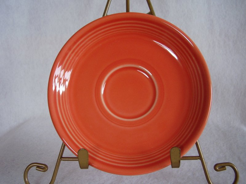 Image 0 of Fiesta Persimmon Saucer Fiestaware Contemporary