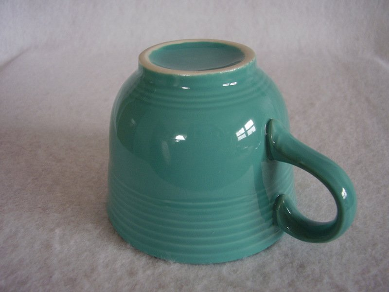 Image 2 of Fiesta Turquoise Coffee Cup Fiestaware Contemporary