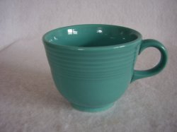 Fiesta Turquoise Coffee Cup Fiestaware Contemporary