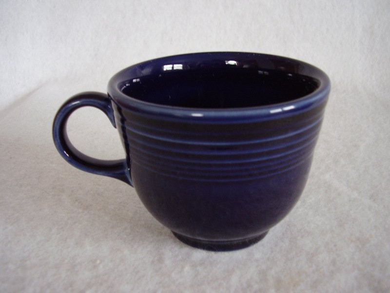 Image 0 of Fiesta Cobalt Coffee Cup Fiestaware Contemporary
