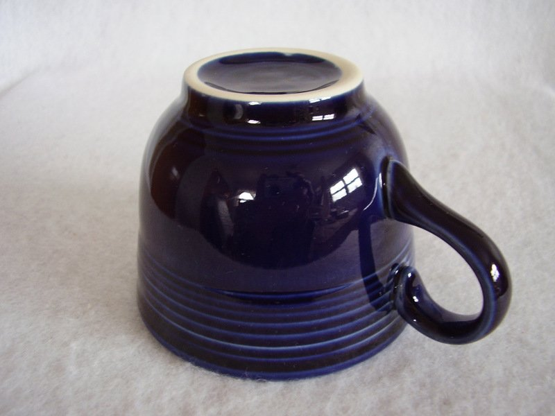 Image 2 of Fiesta Cobalt Coffee Cup Fiestaware Contemporary