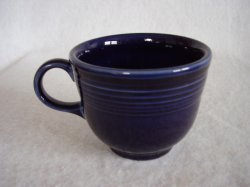 Fiesta Cobalt Coffee Cup Fiestaware Contemporary