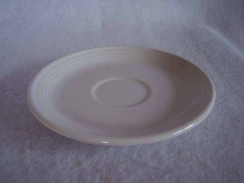 Image 1 of Fiesta White Saucer Fiesta Contemporary