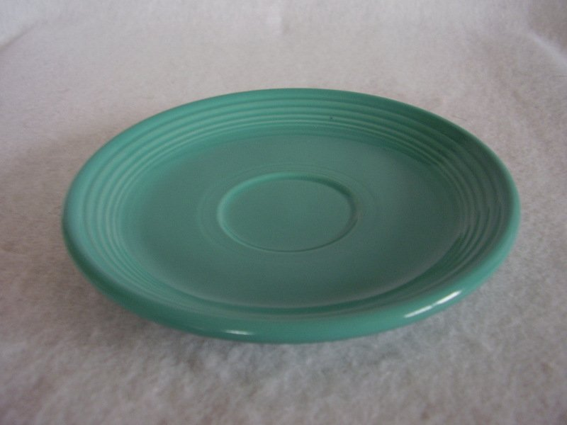 Image 1 of Fiesta Turquoise Teacup Saucer Fiestaware Contemporary