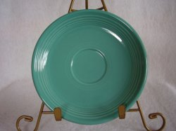 Fiesta Turquoise Teacup Saucer Fiestaware Contemporary