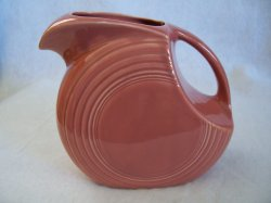 '.Vintage Fiesta Rose Pitcher.'