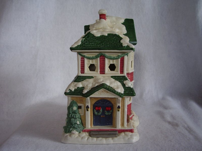 Porcelain Christmas Houses