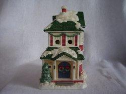 '.Village Square Victorian House.'
