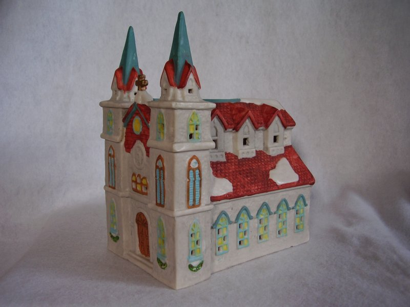 Porcelain Church or Chapel