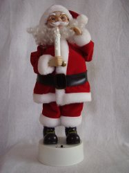 Telco Motionette Santa Animated Illuminated Christmas Display Figure 16 Inches