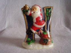 '.Christmas Noel Santa Candles.'